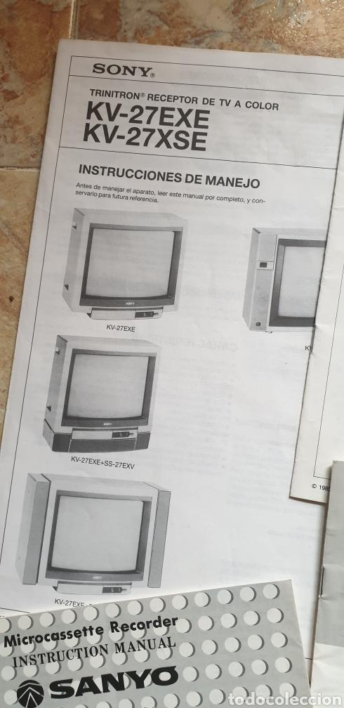 Radios antiguas: LOTE DE 9 LIBROS INSTRUCCIONES TV CASSETTE SUPER 8 AÑOS 70-80 - Foto 8 - 153944944