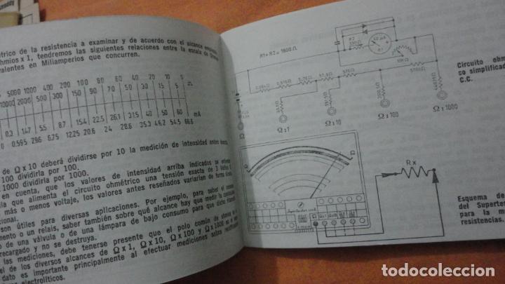 Radios antiguas: LIBRO INSTRUCCIONES SUPERTESTER 680 R.ICE.MILANO.ITALIA - Foto 5 - 155626054