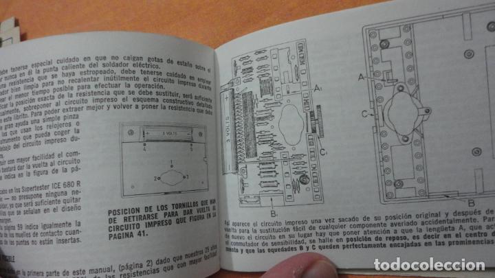 Radios antiguas: LIBRO INSTRUCCIONES SUPERTESTER 680 R.ICE.MILANO.ITALIA - Foto 6 - 155626054
