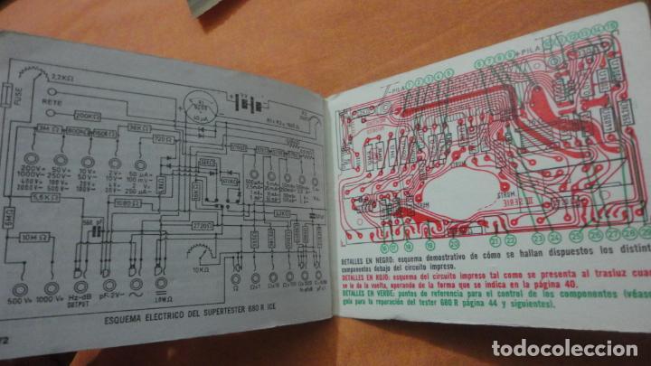 Radios antiguas: LIBRO INSTRUCCIONES SUPERTESTER 680 R.ICE.MILANO.ITALIA - Foto 8 - 155626054