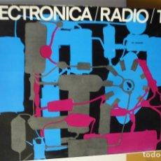 Radios antiguas: DICCIONARIO DE ELECTRONICA RADIO TV. Lote 155658266