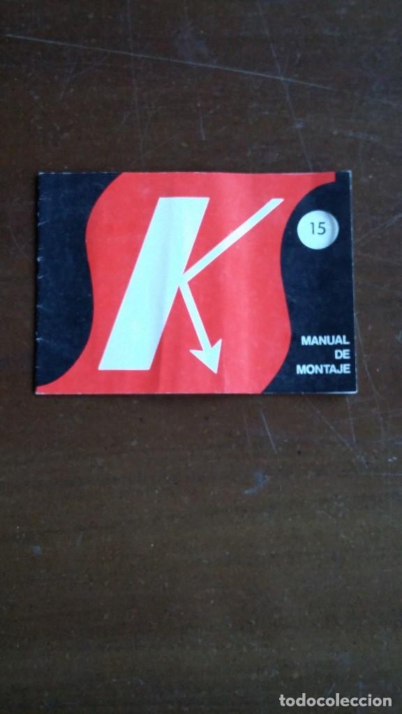 SALES KIT. MANUAL DE MONTAJE SUPERREGENERATIVO EXPERIMENTAL PARA VHF. (Radios, Gramófonos, Grabadoras y Otros - Catálogos, Publicidad y Libros de Radio)