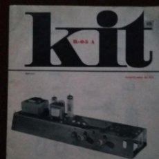 Radios antiguas: AFHA- MONTAJE KIT R-05 A-AMPLIFICADOR DE BF. Lote 205875437