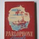 Radios antiguas: CATÁLOGO PARLOPHONE RECORDS 1944-5 DE DISCOS DE PIZARRA. Lote 156685814