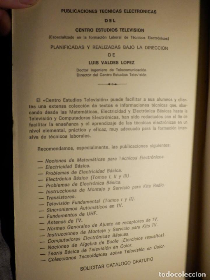 Radios antiguas: Libro - Tecnología de televisión - Centro Estudios de Televisión - - Foto 2 - 156929362