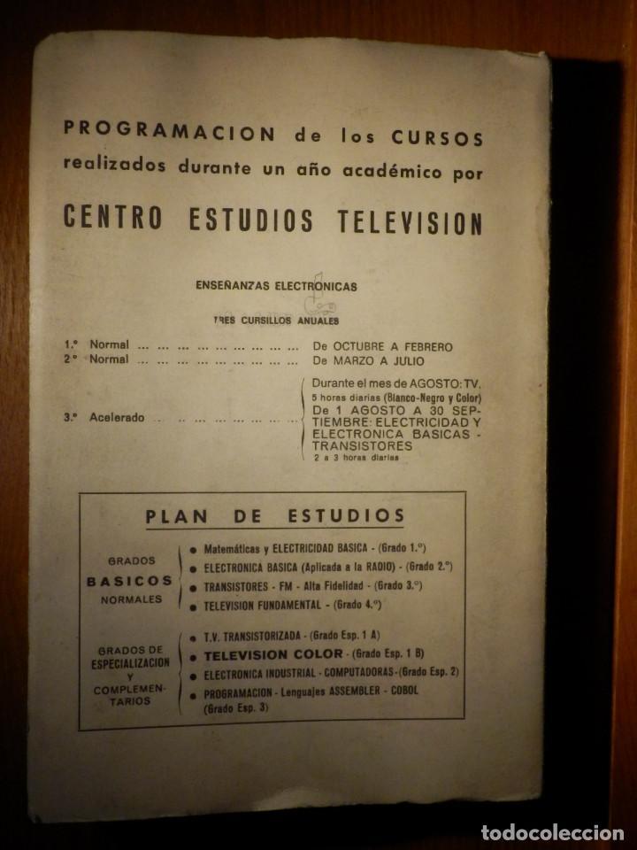 Radios antiguas: Libro - Tecnología de televisión - Centro Estudios de Televisión - - Foto 5 - 156929362