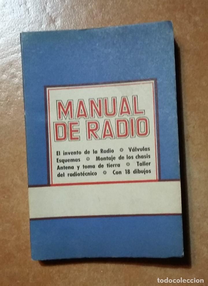 MANUAL DE RADIO - COLECCION PRACTICA LILIPUT (Radios, Gramófonos, Grabadoras y Otros - Catálogos, Publicidad y Libros de Radio)