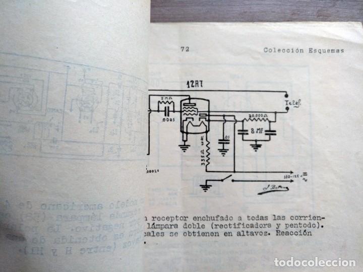 Radios antiguas: escuela radio maymo, electronica, coleccion 8 esquemas de radio - Foto 2 - 157863134