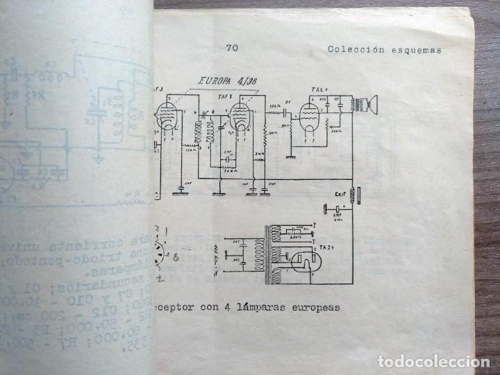 Radios antiguas: escuela radio maymo, electronica, coleccion 8 esquemas de radio - Foto 4 - 157863134