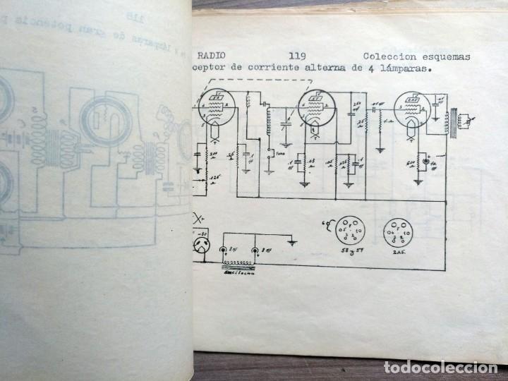 Radios antiguas: escuela radio maymo, electronica, coleccion 8 esquemas de radio - Foto 2 - 157863322