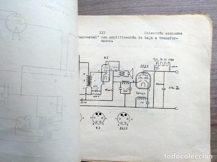 Radios antiguas: escuela radio maymo, electronica, coleccion 8 esquemas de radio - Foto 3 - 157863322