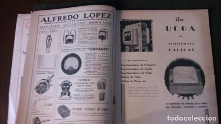 Radios antiguas: REVISTA TELEGRÁFICA-MARZO 1936 - Foto 2 - 158938982