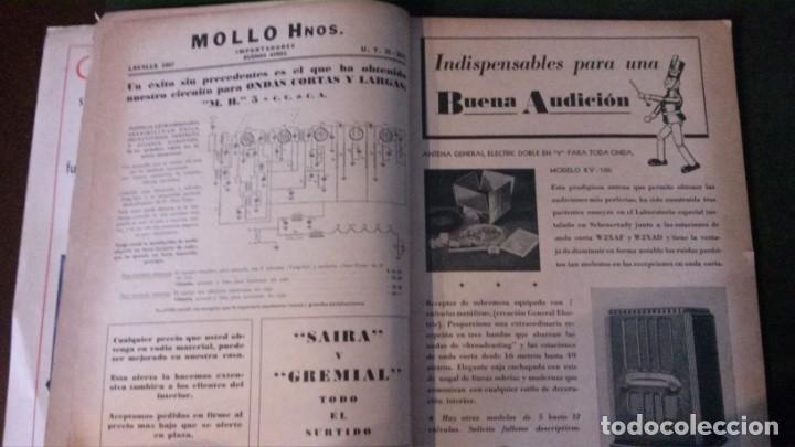 Radios antiguas: REVISTA TELEGRÁFICA-MARZO 1936 - Foto 3 - 158938982