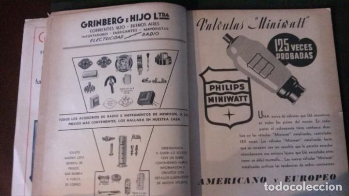 Radios antiguas: REVISTA TELEGRÁFICA-MARZO 1936 - Foto 4 - 158938982
