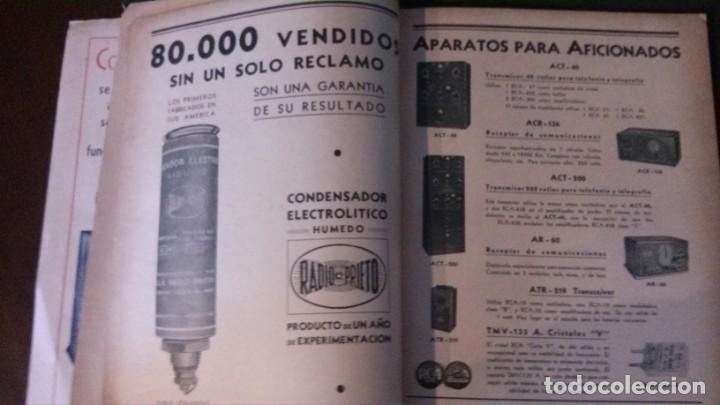 Radios antiguas: REVISTA TELEGRÁFICA-MARZO 1936 - Foto 7 - 158938982