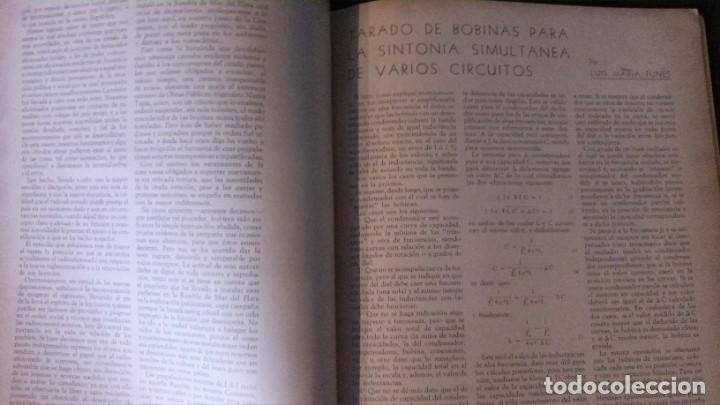 Radios antiguas: REVISTA TELEGRÁFICA-MARZO 1936 - Foto 9 - 158938982