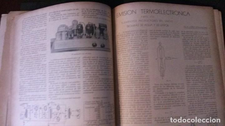 Radios antiguas: REVISTA TELEGRÁFICA-MARZO 1936 - Foto 12 - 158938982