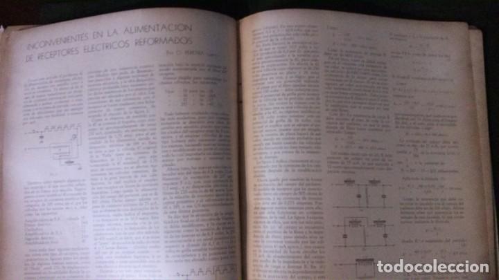 Radios antiguas: REVISTA TELEGRÁFICA-MARZO 1936 - Foto 14 - 158938982