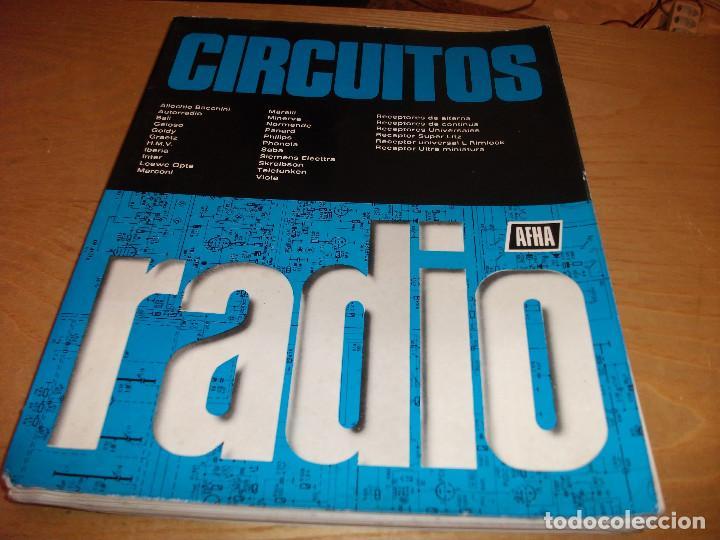 MANUAL ESQUEMAS DE RADIO **AFHA** (Radios, Gramófonos, Grabadoras y Otros - Catálogos, Publicidad y Libros de Radio)