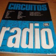 Radios antiguas: MANUAL ESQUEMAS DE RADIO **AFHA**. Lote 158944618