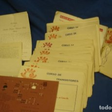 Radios antiguas: ANTIGUO CURSO IHAR - VER FOTOS. Lote 159294786