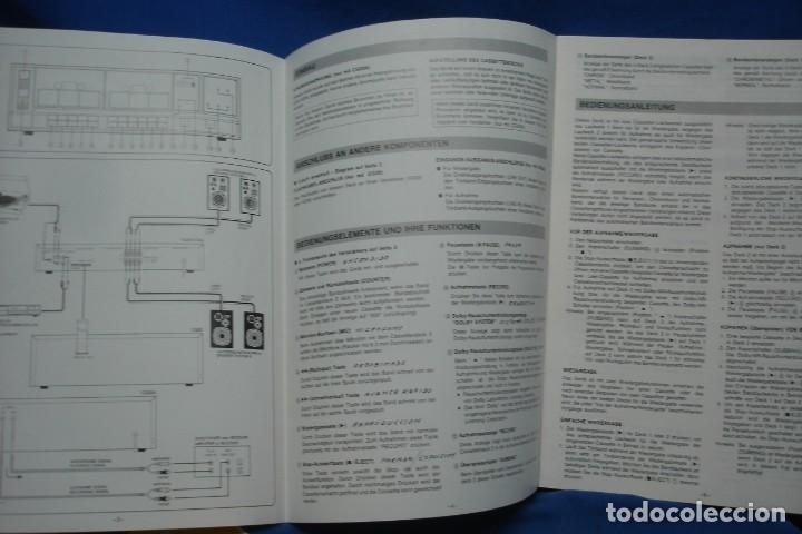 Radios antiguas: MANUAL DE USO UHER CG20 + ESQUEMA SALEKIT - Foto 5 - 159634838