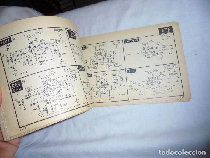 Radios antiguas: TELE TUBES.R.DE SCHEPPER.EDITIONS RADIO 1961.CARACTERISTICAS ESENCIALES Y ESQUEMAS DE UTILIZACION.Nº - Foto 3 - 159890006