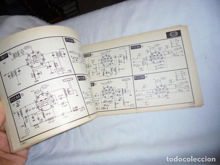 Radios antiguas: TELE TUBES.R.DE SCHEPPER.EDITIONS RADIO 1961.CARACTERISTICAS ESENCIALES Y ESQUEMAS DE UTILIZACION.Nº - Foto 4 - 159890006