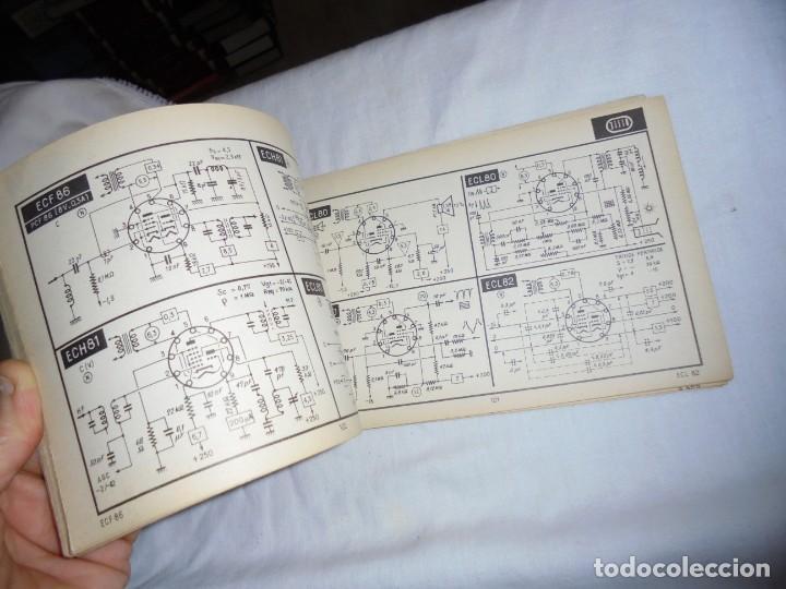 Radios antiguas: TELE TUBES.R.DE SCHEPPER.EDITIONS RADIO 1961.CARACTERISTICAS ESENCIALES Y ESQUEMAS DE UTILIZACION.Nº - Foto 5 - 159890006