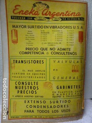 Radios antiguas: CHASSIS REVISTA DE RADIO Y TELEVISION AÑOS 50 - Foto 4 - 160314518