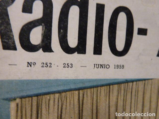 Radios antiguas: CHASSIS REVISTA DE RADIO Y TELEVISION AÑOS 50 - Foto 2 - 160314566