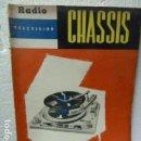 Radios antiguas: CHASSIS REVISTA DE RADIO Y TELEVISION AÑOS 50 . Lote 160314590