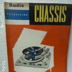 Radios antiguas - CHASSIS REVISTA DE RADIO Y TELEVISION AÑOS 50 - 160314590