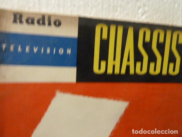 Radios antiguas: CHASSIS REVISTA DE RADIO Y TELEVISION AÑOS 50 - Foto 2 - 160314590