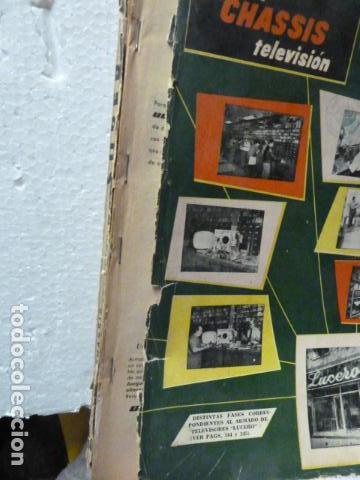 Radios antiguas: SUPER 2 CHASSIS REVISTA DE RADIO Y TELEVISION AÑOS 50 - Foto 5 - 160314666