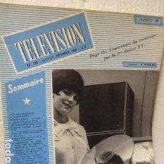 Radios antiguas: TELEVISION REVISTA FRANCESA AÑO 1969. Lote 160319150