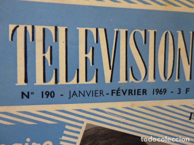 Radios antiguas: TELEVISION REVISTA FRANCESA AÑO 1969 - Foto 2 - 160319150