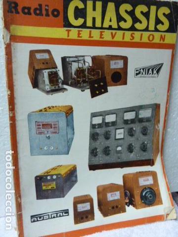 RADIO CHASIS REVISTA AÑOS 50 (Radios, Gramófonos, Grabadoras y Otros - Catálogos, Publicidad y Libros de Radio)