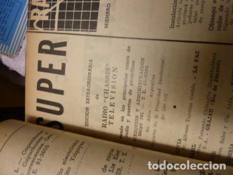 Radios antiguas: RADIO CHASIS REVISTA AÑOS 50 - Foto 3 - 160319394