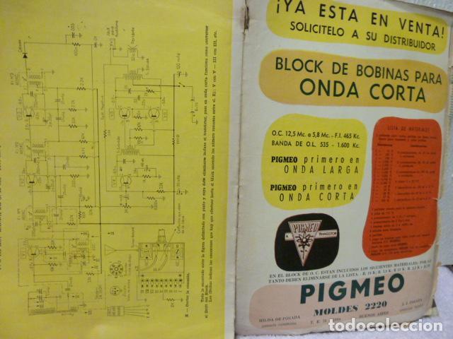 Radios antiguas: RADIO CHASIS REVISTA AÑOS 50 - Foto 4 - 160319394