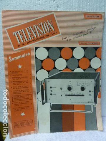 TELEVISION REVISTA FRANCESA 1968 (Radios, Gramófonos, Grabadoras y Otros - Catálogos, Publicidad y Libros de Radio)