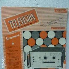 Radios antiguas: TELEVISION REVISTA FRANCESA 1968. Lote 160320926