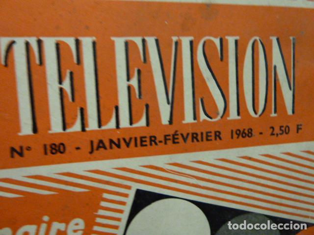 Radios antiguas: TELEVISION REVISTA FRANCESA 1968 - Foto 2 - 160320926