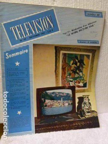 TELEVISION REVISTA FRANCESA 1965 (Radios, Gramófonos, Grabadoras y Otros - Catálogos, Publicidad y Libros de Radio)