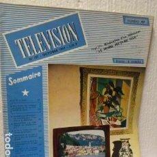 Radios antiguas: TELEVISION REVISTA FRANCESA 1965. Lote 160321258