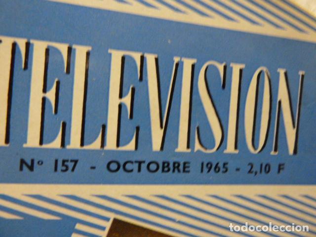 Radios antiguas: TELEVISION REVISTA FRANCESA 1965 - Foto 2 - 160321258