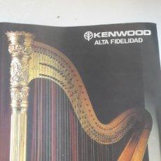 Radios antiguas - Kenwood Japon catalogo alta fidelelidad - 160332813