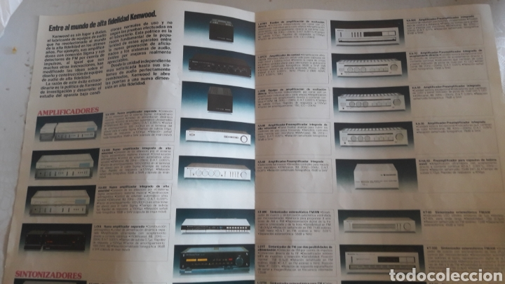 Radios antiguas: Kenwood Japon catalogo alta fidelelidad - Foto 2 - 160332813