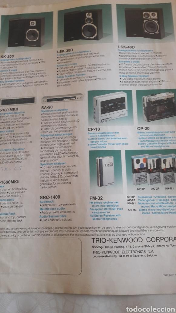 Radios antiguas: Kemwood v series Japon alta fidelidad v.71 sisteme - Foto 4 - 160333262