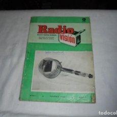 Radios antiguas: RADIO VISION Nº 1.REVISTA TECNICA MENSUAL.AÑO I.FBRERO 1952. Lote 161018990